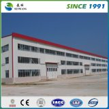Construction préfabriquée de structure métallique pour l'école d'atelier d'entrepôt de bureau