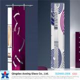 Silk-Screen Tempered novo vidro impresso para o edifício/decoração
