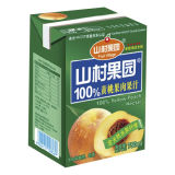 1000ml de jugo de ladrillo de caja de cartón aséptico