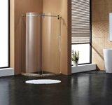Modèle d'acier inoxydable glissant la cabine de douche de porte de douche