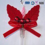 Fantastischer Weihnachtskuchen-dekorative Kerze