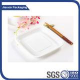 Piatto di plastica bianco quadrato di Disposbale