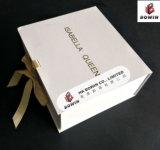 Логос косметическое Packaigng золота закрытия тесемки кладет картонную коробку в коробку