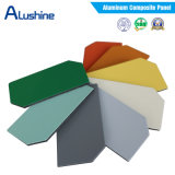 El panel compuesto de aluminio de aluminio barato del panel de emparedado para hacer publicidad de la tarjeta