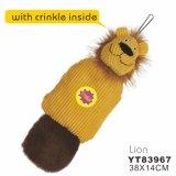 Forma de león de peluche de peluche de juguete de perro (yt83956)