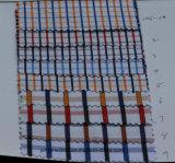 Le mélange de coton tissu poly vérifié pour la cravate