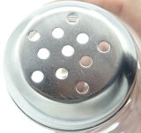 Spice Jar Glass Jar Sal e pimenta Shaker