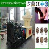 O motor de Dessel, fácil remove, a máquina de madeira da pelota do transporte conveniente