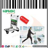Handbremsen-Flughafen-Gepäck und Gepäck-Laufkatze