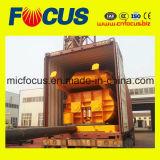 Mezclador concreto automático lleno con la tolva, mezclador concreto Js1000 para la planta de procesamiento por lotes por lotes