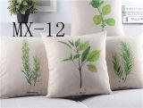 Свежие ванильный хлопок Америки диван растений декоративные подушки подушки сиденья водителя