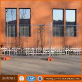 Cerca provisória de aço galvanizada antiferrugem do conjunto fácil para a venda