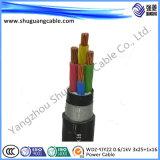 Кв 0.6/1Wdzyjy22 3X25 1 X16/LV/Негорючий/кабель питания
