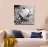 Coeur décoratif - modèle neuf de peinture à l'huile