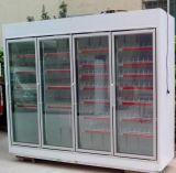Door de vidro para o congelador das lojas