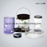 Caixa de empacotamento de plástico / plástico de plástico personalizado com amostra livre clara