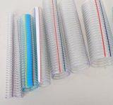 Belüftung-Stahldraht-Schlauch Belüftung-Schlauch-Plastikschlauch-Gefäß