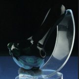 Tubulação de vidro da colher de Bontek para o fumo