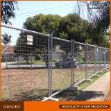 Cerca provisória do metal da cerca ao ar livre para o canteiro de obras