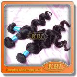 Бразильская волна человеческих волос выдвижения волос