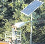 Comitato solare semi flessibile solare degli indicatori luminosi di via 100watt con le pile solari di Sunpower
