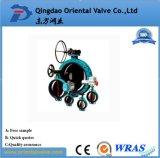 Feito em China, válvula de borboleta da bolacha da alta qualidade da precisão do OEM de Alibaba Dn50 com preço