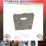 Metal revestido do zinco que carimba as peças para o grampo da correia do metal