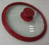 Vente chaude 20cm Silicone & couvercles en verre trempé