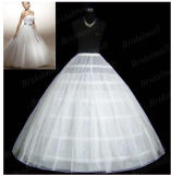 Шарик платье со скидкой 6 выдвижных дуг свадьбы Petticoat Underskirt P-001