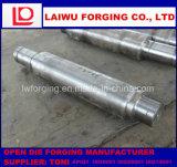 Forjamento de forragem plana Forgedshaft usado como forjados de eixo de aço de liga