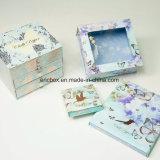 Caja de embalaje del armario de la alta calidad Jy-GB26 del regalo de papel bonito de Storge