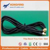 Connecteur de compactage du câble coaxial de liaison Rg11 RG6 Rg59