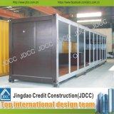 Prefabricated 경양식점 40FT 콘테이너 집