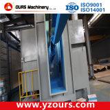 Ligne d'enduit automatique de poudre pour des produits de fer travaillé