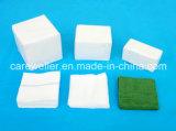 Esterilizante absorbente de gasa de algodón Swab / Gauze Pad con / sin rayos X