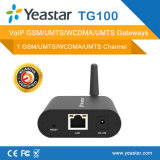 Yeastar ein Kanal VoIP CDMA des SIM Schlitz-CDMA Kommunikationsrechner (NeoGate TG100)