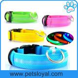 Ворот собаки любимчика волокна СИД USB вспомогательного оборудования любимчика перезаряжаемые