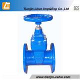 연성이 있는 철 또는 무쇠 또는 탄력있는 게이트 밸브