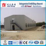 Casa de trabajo modular prefabricada del campo del trabajador del panel de emparedado