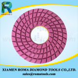 Romatools 다이아몬드 닦는 패드는 지면을%s 사용을 적셨다