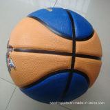Fabricado na China o logotipo personalizado de boa qualidade de basquetebol de Borracha