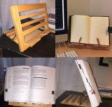 Stand de livre multifonctionnel en bois de hêtre