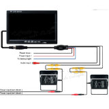 Automobile Parking Backup Camera e 7inch Monitor per Vehicles