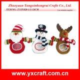 Fiesta de la Navidad del día de fiesta de la decoración de la Navidad (ZY15Y017-1-2-3)