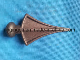 安い販売法の錬鉄は鋼鉄やりおよびFinialの製品を造った