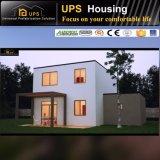 Chambre préfabriquée à quatre chambes modulaire verte pour l'Afrique du Sud