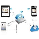 접촉 단추 IP Doorphone 의 Smartphone 통제 자물쇠