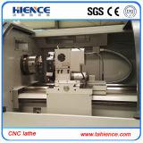 Torno da maquinaria do CNC do baixo custo com alimentador Ck6150A da barra