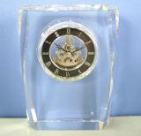 Belle horloge en cristal pour la décoration Mn-5162 de bureau
