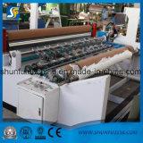 Papel coloreado automático de la toalla y papel higiénico que rebobina y que convierte la máquina